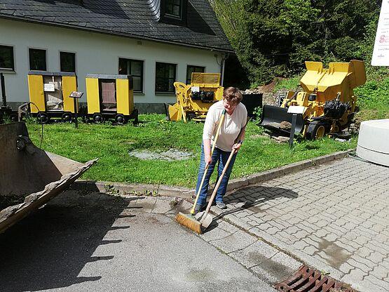 Samstagsarbeitseinsatz unserer aktiven Vereinsmitglieder